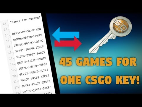 45 Games For 1 CS:GO Key! | Steam Game Trading Bots