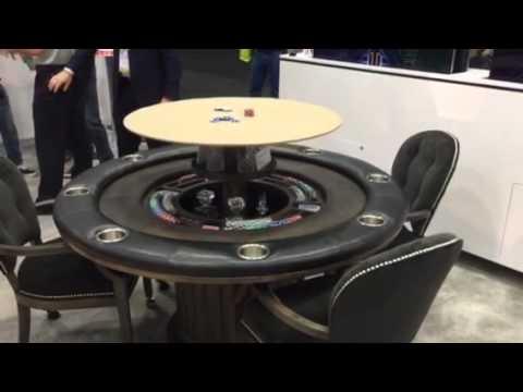 Nexus 21 speakeasy poker table with hidden bar cedia 2015 youtube nexus 21 speakeasy poker table with hidden bar cedia 2015 watchthetrailerfo