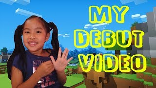 Minecraft Creative Mode - Kenzieand39s Corner - Debut Video Of The 6 Yr Old Gamer Girl