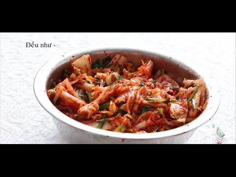 cách làm kimchi Hàn Quốc đơn giản