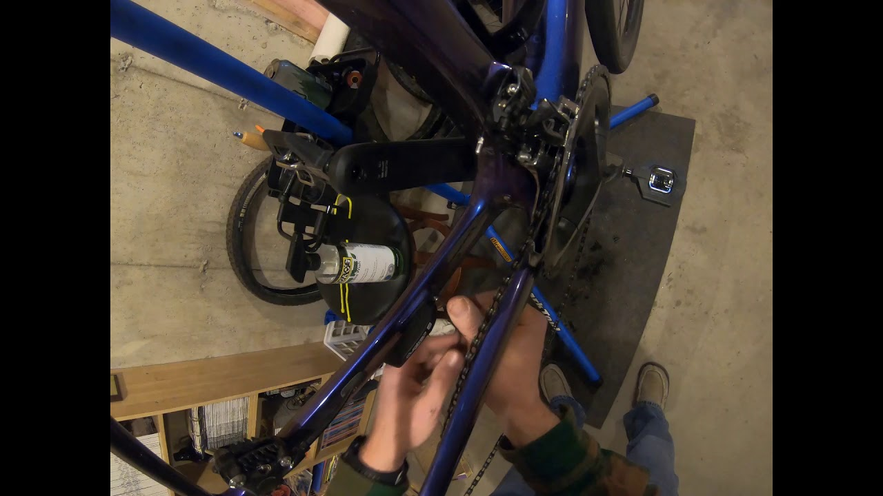Installing A Bontrager Duotrap S Sensor On A Trek Domane