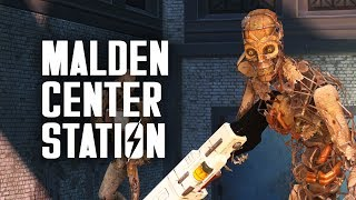 The Full Story of Malden Center: What are Synths Doing Here? Plus, Dark Hollow Pond - Fallout 4 Lore