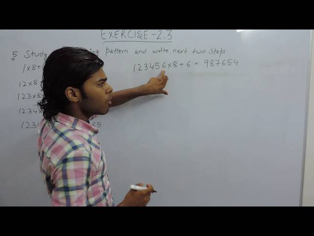 Exercise 2.3 Question 5 NCERT/CBSE Solutions for Class 6th Maths Chapter 2 (Whole Numbers)