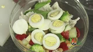 Healthy Salad Ranch Style Dressing - In Hindi