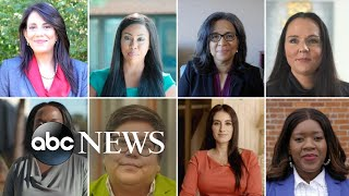 Record number of women of color running for office | ABC News