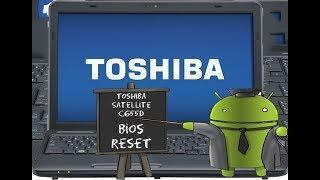 Toshiba Satellite C655D Serisi Bios Reset İşlem Videosu