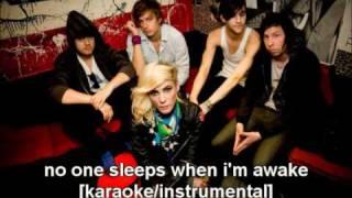 The Sounds - No One Sleeps When I'm Awake [Karaoke/Instrumental]