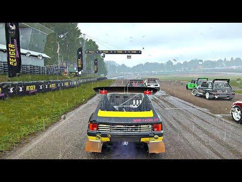 DiRT 4 - Career Mode Gameplay  - Rally Cross (Peugeot 205-T16)