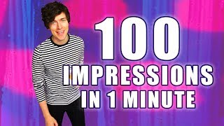 100 IMPRESSIONS IN 1 MINUTE