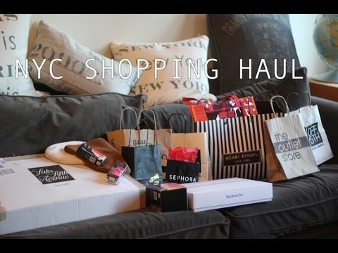 Nyc shopping haul verlosung u a rebekka minkoff for Nordstrom rack new york