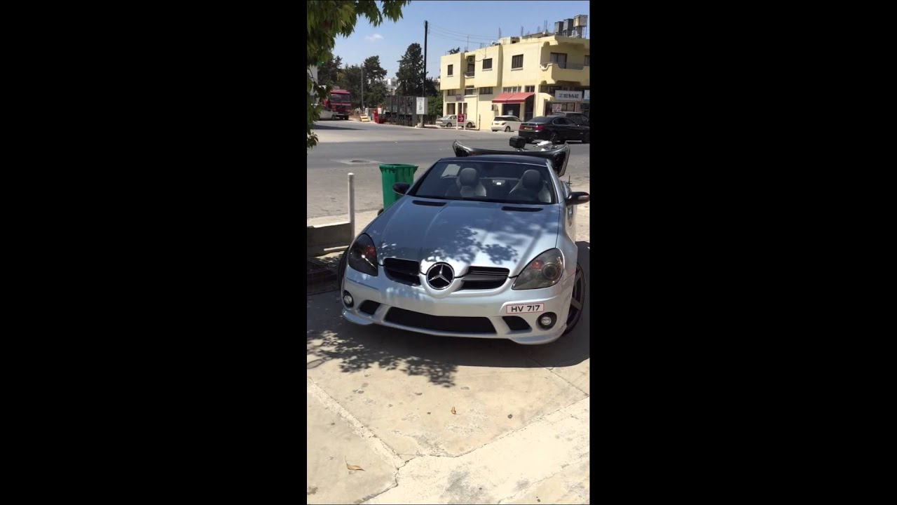slk r171 amg body kit mods4cars youtube. Black Bedroom Furniture Sets. Home Design Ideas