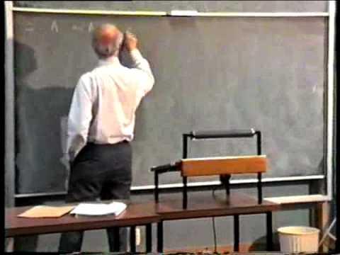 Gerard Debreu: Lecture 3 on Economic Theory (1987)