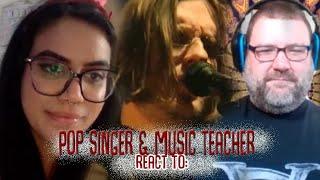 Music Teacher & Pop Singer React to Anesthetize by Porcupine Tree live Tilburg Netherlands Reaction