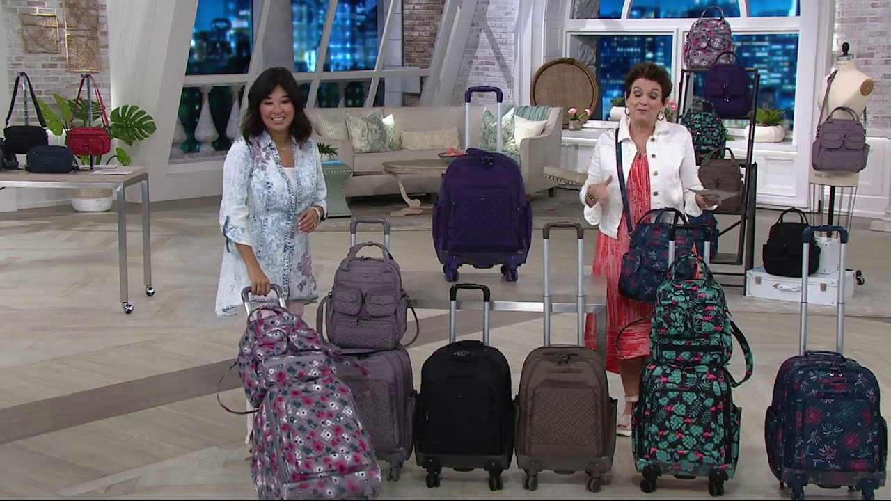 0906d8575 Lug Quilted Wheelie Luggage Bag - Propeller 2 on QVC - YouTube