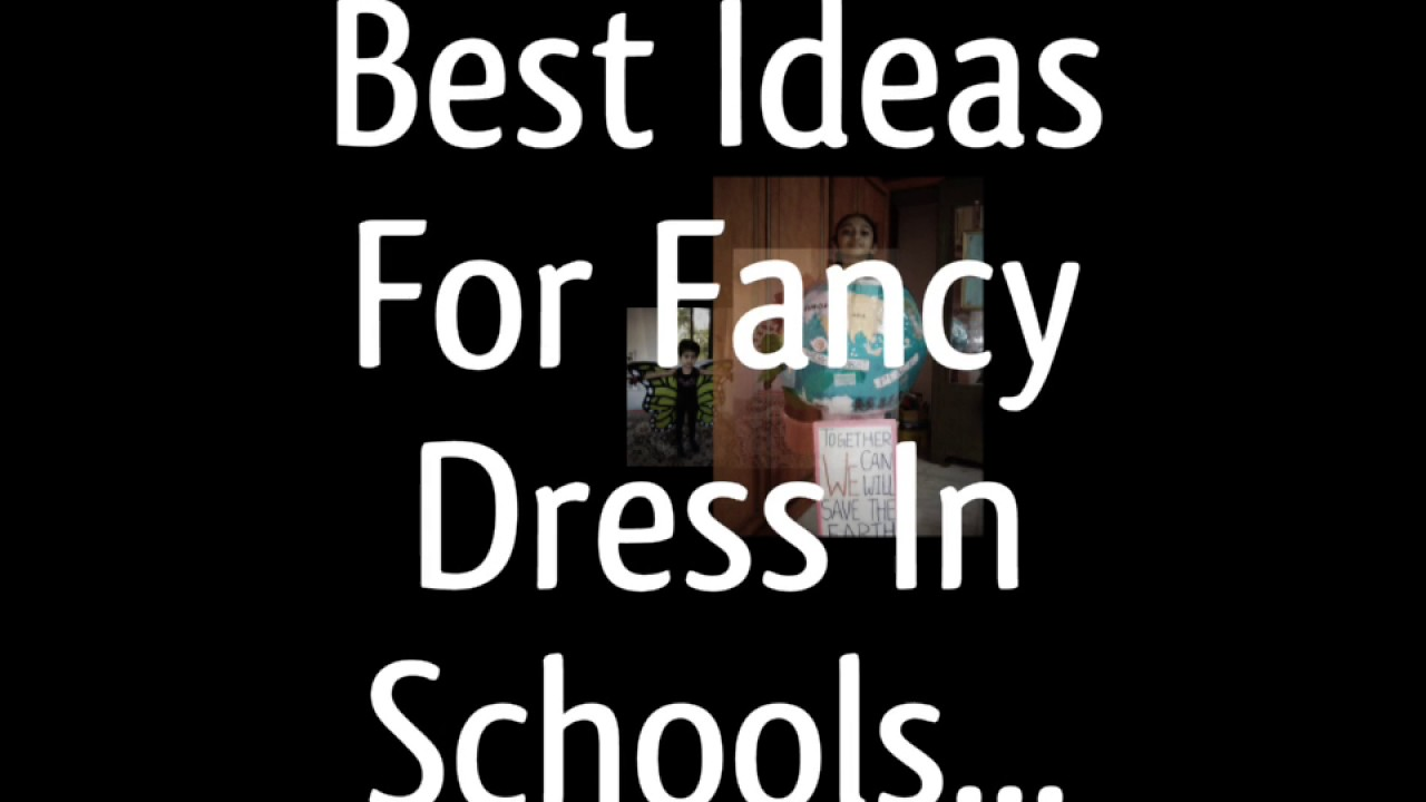 Best Idea For Fancy Dress Competition Youtube