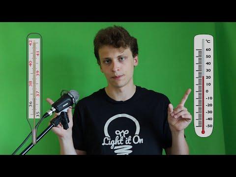 Видео урок как определить цену деления термометра