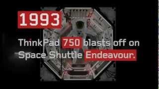 20 let vývoje notebooků ThinkPad
