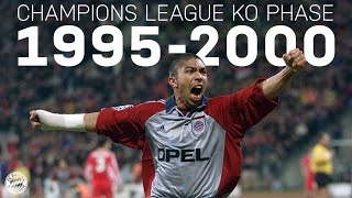 ALL GOALS & GAMES from the Champions League Knockout Phase 1995-2000 | FC Bayern
