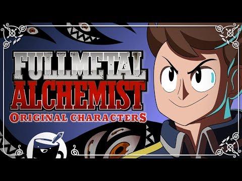 Artists Draw Original Fullmetal Alchemist Characters