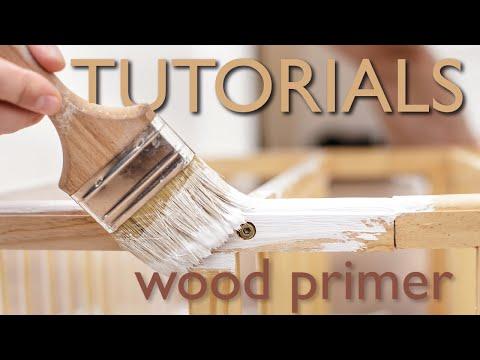 How to use wood primer tutorial   Avko Interior Sealer Filler Primer Tutorial