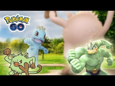NUEVO EVENTO tipo LUCHA con MACHOP SHINY, MANKEY SHINY, POLVO ESTELAR y más en Pokémon GO! [Keibron] thumbnail