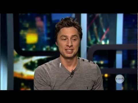 Zach Braff interview on The Project - Oz: The Great and Powerful