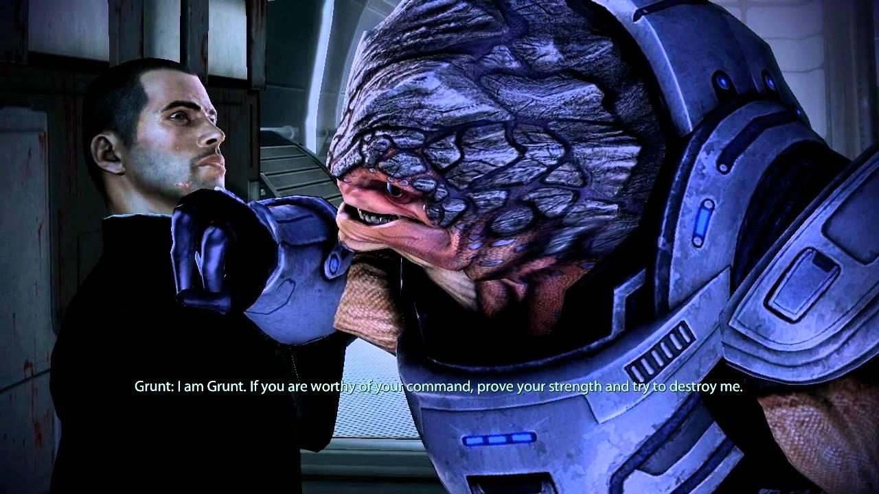 Grunt Mass Effect