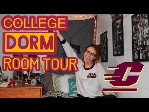 COLLEGE DORM ROOM TOUR! | Central Michigan University
