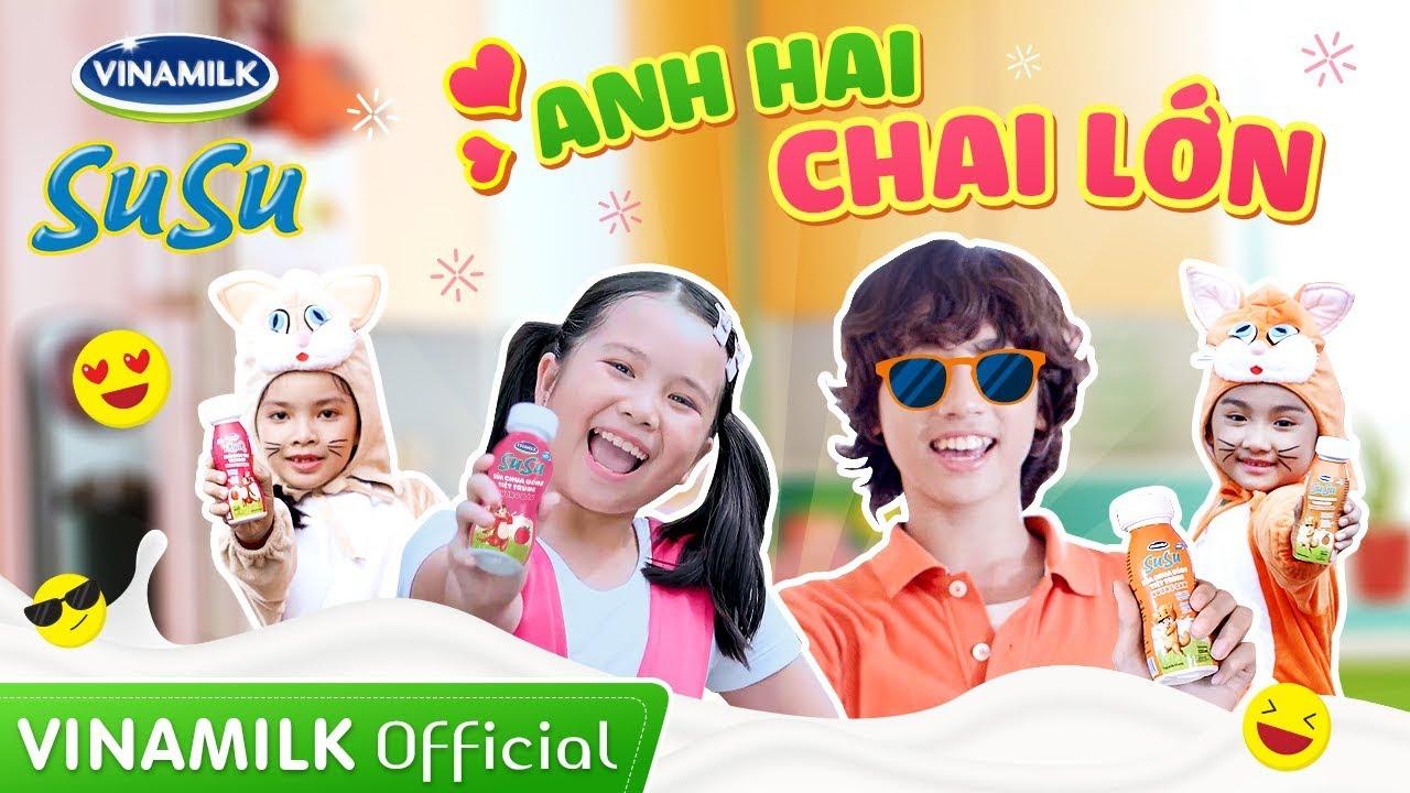 MV SuSu Anh Hai Chai Lớn – Gia Khiêm ft Hà Mi | Nhạc thiếu nhi mới nhất 2019
