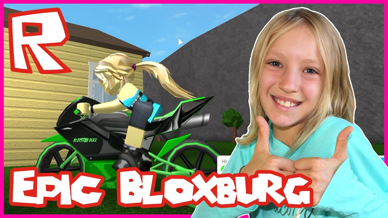 Roblox Welcome To Bloxburg Epic Motorbike Youtube