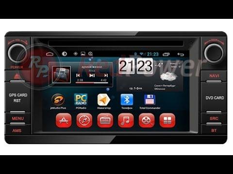 Штатная магнитола Mitsubishi Android Redpower 18239 Carpad3