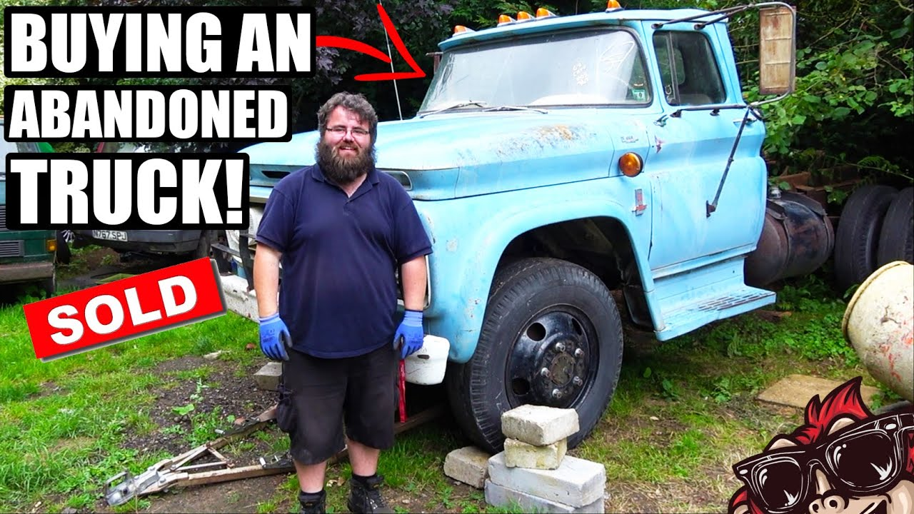 🐒 WAS THIS A GOOD IDEA? BUYING AN ABANDONED AMERICAN TRUCK!