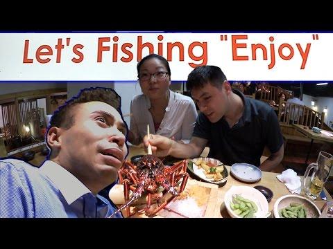 "Let's Fishing ""Enjoy""! - Tokyo's Fishing Restaurant"