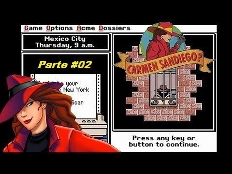 Where in the World is Carmen Sandiego? - (Mega Drive) - Completo - Parte 2