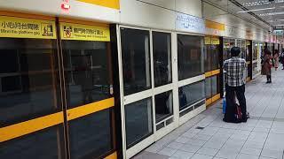 20181226台北捷運橘線大橋頭站列車進站影片