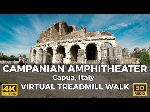Campanian Amphitheater in Capua, Italy Virtual Walk in 4K