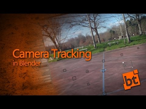 How to do Camera Tracking in Blender