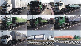 TRUK Pantura Special Idul Adha !! Truck Trailer Mercedes Benz Hino Truk Tronton UD Quester ISUZU