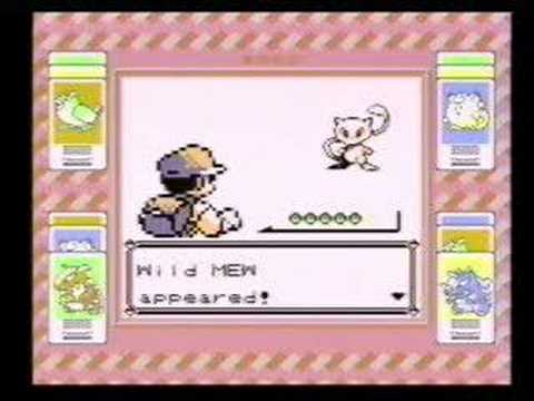 how to catch mew in red