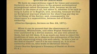 The Abominable Pagan Mass of Christ aka Christmas - Eric Jon Phelps - Part 3