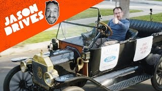 Driving A 104-Year-Old Ford Model T and The Beastly Hot Rod It Spawned
