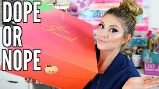 TOO FACED SWEET PEACH COLLECTION & GIVEAWAY! (CLOSED)| DOPE OR NOPE