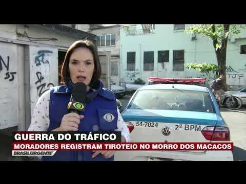 Moradores registram tiroteio em comunidade do RJ