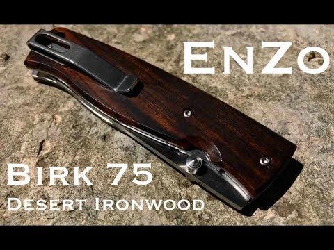 New Knife: EnZo Birk 75 Desert Ironwood