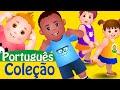 Cabeça, Ombros, Joelhos e Pés Coleção com Muitas Mais Canções de Ninar| ChuChuTV