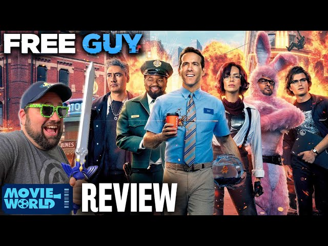 Free Guy - Movie REVIEW - Is It The Best Video Game Movie?!