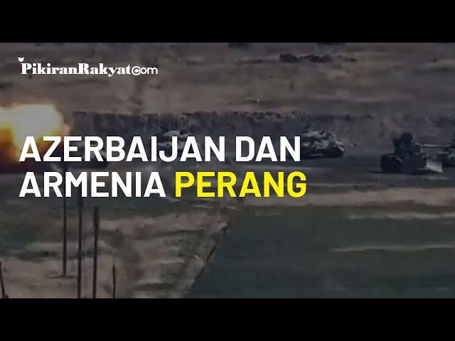 Azerbaijan dan Armenia Perang di Daerah Nagorno Karabakh, 23 Orang Dikabarkan Tewas