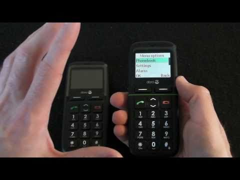 Doro PhoneEasy 341gsm & 345gsm Mobile Phones Review