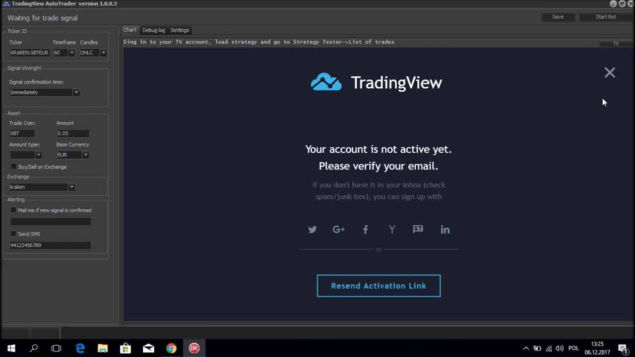 Afmaken van een bestaand Auto Trading Bot.