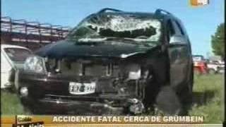 Accidente fatal con hinchas de Boca